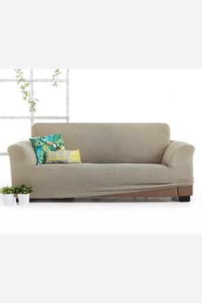 Milos háromszemélyes kanapéhuzat, bézs