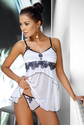 Mirabelle elegáns szett - hálóing és női alsó