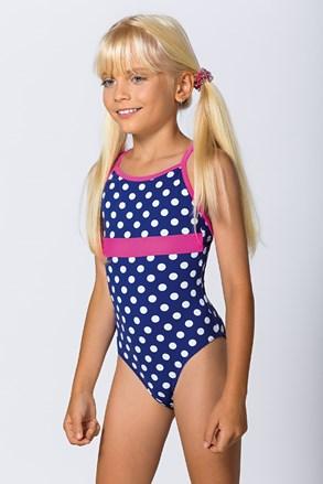 Dívčí jednodílné plavky Dots