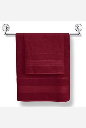 Bambusový ručník Moreno vínový