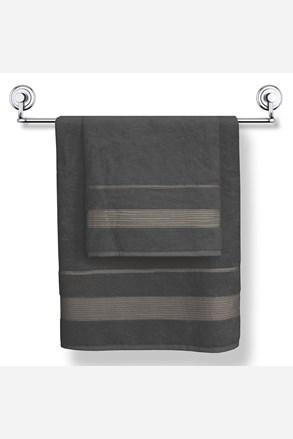 Bambusový ručník Moreno grafitový
