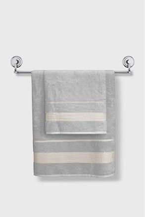 Bambusový ručník Moreno světlešedý