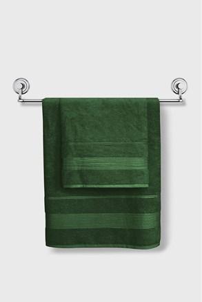 Bambusový ručník Moreno tmavězelený