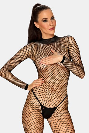 Bodystocking Obsessive Caught in sexy net