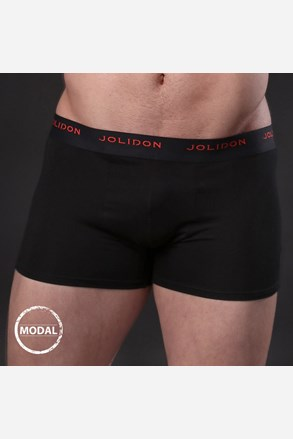 Pánské boxerky JOLIDON Silk Touch Black