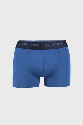 Męskie bokserki JOLIDON Silk Touch Blue