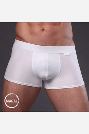 Pánské boxerky JOLIDON Jacquard Blanc