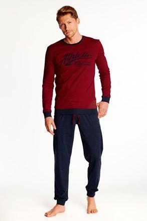 Червоно-чорна піжама Optim