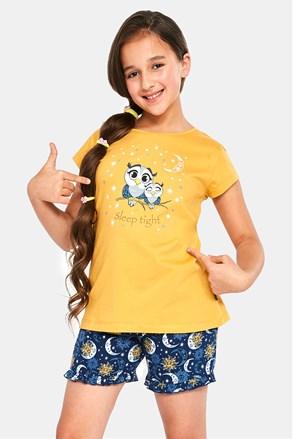 Dívčí pyžamo Owls