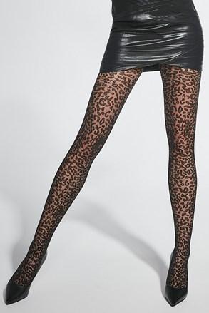 Vzorované punčochové kalhoty Panther 40DEN