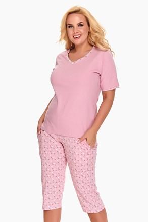 Dámské pyžamo Diana růžová