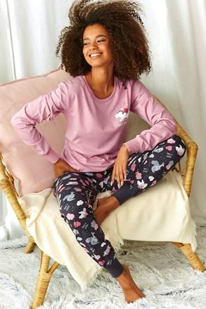 Dámské pyžamo Sonya růžové