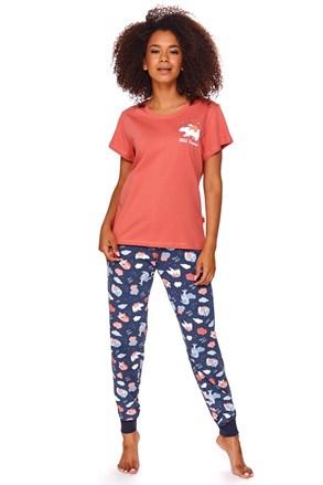 Dámské pyžamo Ruth červené