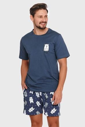 Modré pyžamo Polar bear