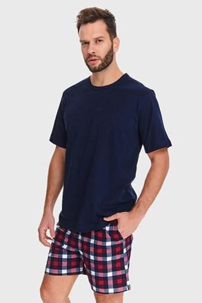 Sötétkék férfi pizsama Wilton