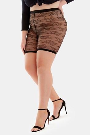 Krajkové šortky proti odírání stehen