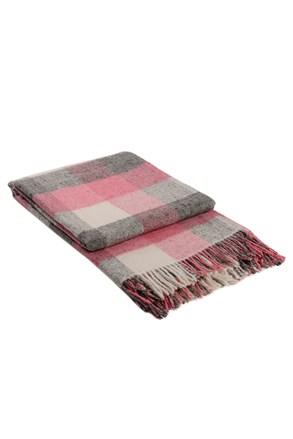 Vlněná deka Palermo růžová