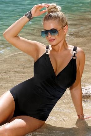 Dámské jednodílné plavky Paula Black