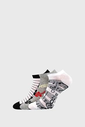 3 PACK dámských ponožek Piki 51