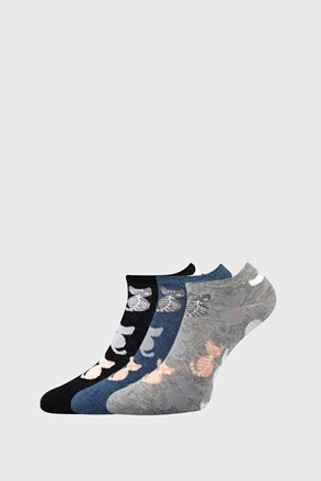 3 PACK dámských ponožek Piki 54