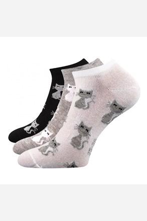3 pack dámských ponožek Piki 55