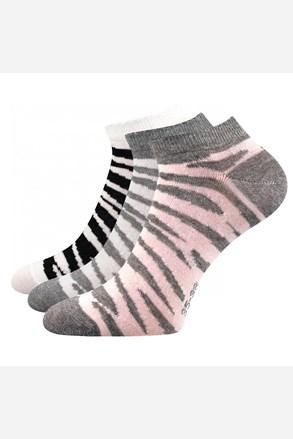 Piki 57 női zokni, 3 pár 1 csomagban