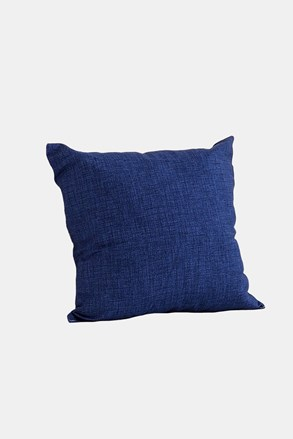 Dekorační polštář s výplní modrý