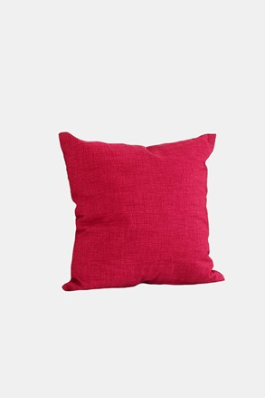 Dekorační polštář s výplní červený