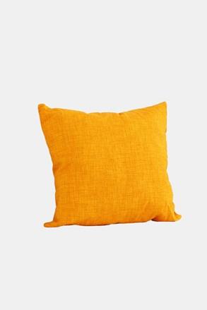 Dekorační polštář s výplní žlutý