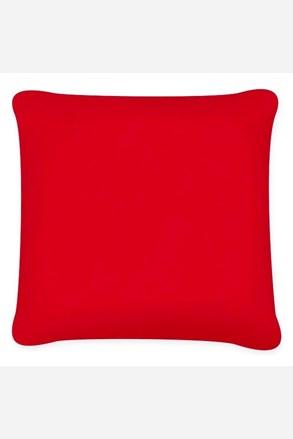 Povlak na polštářek Uni červená