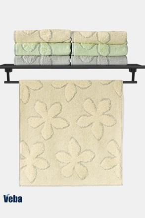 Luxusní ručník VEBA Primavera žlutý