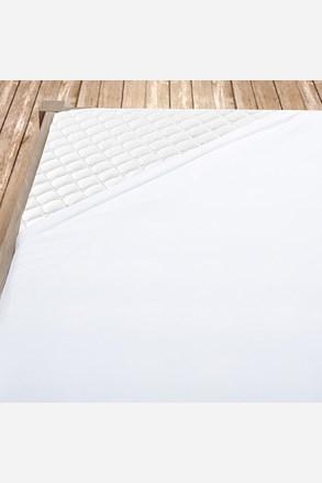 Flanelové prostěradlo bílé
