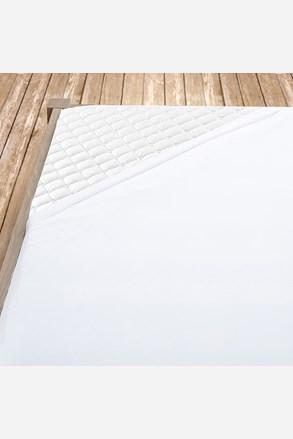 Bílé bavlněné prostěradlo s gumou