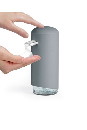 Dávkovač mýdlové pěny Compactor šedý