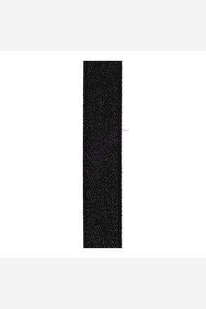 Textil vállpántok 18 mm fekete
