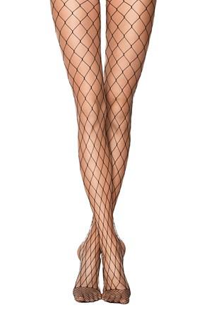 Síťované punčochové kalhoty Rette Max