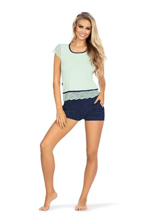 Dámské pyžamo Roxy Mint Blue