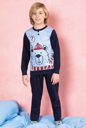 Chlapecké pyžamo Bear modré