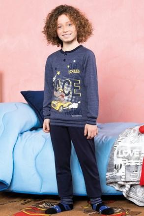 Chlapecké pyžamo Race modré