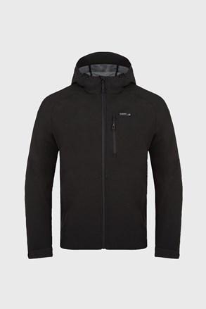Pánská černá softshell bunda LOAP Lawer