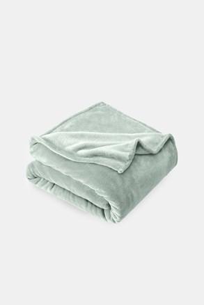 Mikroplyšová deka šedá