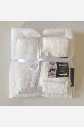 Dárková sada ručníků mikrobavlna ecru