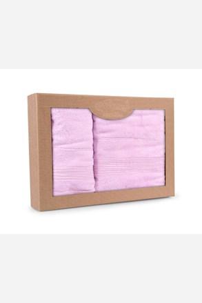 Dárková sada ručníků Moreno lila