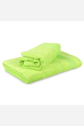 Set 2 bambusových ručníků Moreno - limonkový