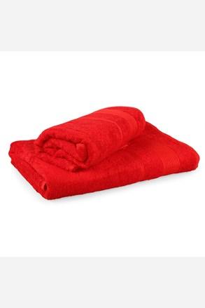 Set 2 bambusových ručníků Moreno červený
