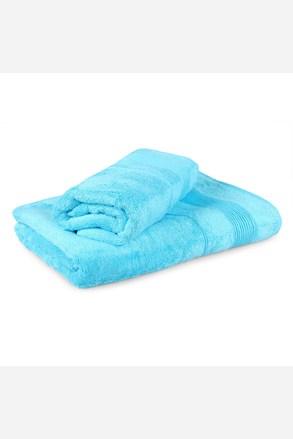 Set 2 bambusových ručníků Moreno - tyrkysový