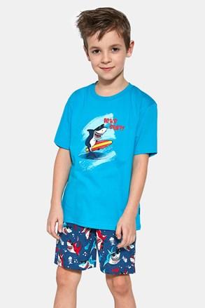 Chlapecké pyžamo Shark surf