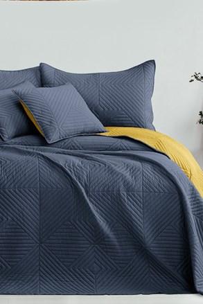 Softa ágytakaró, szürke-sárga