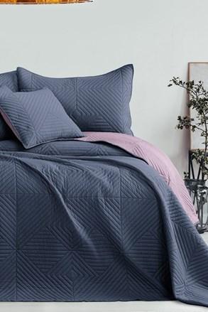 Softa ágytakaró, szürke-lila
