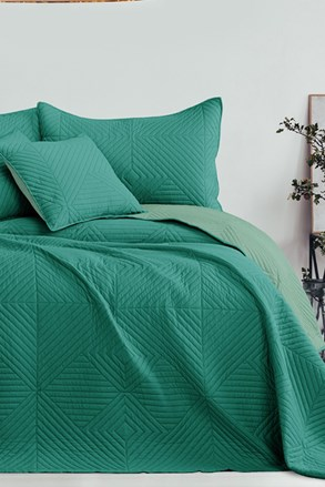 Softa ágytakaró, zöld